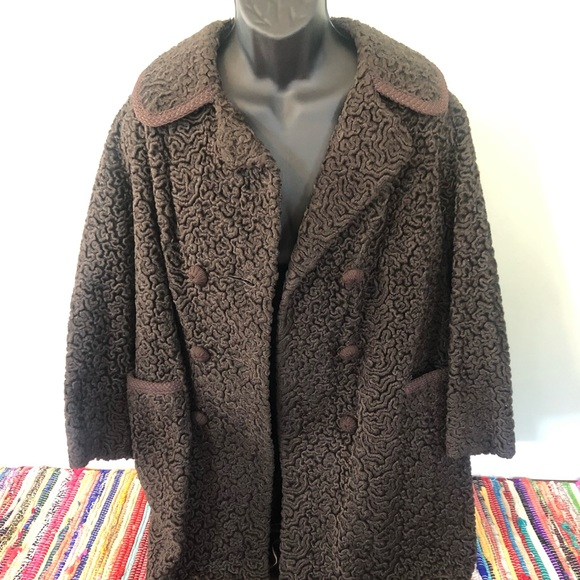 Vintage Jackets & Blazers - 1960s Russel Taylor Winter Coat Beautiful Rare USA